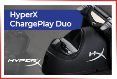 HyperX ChargePlay Duo!