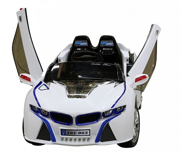 Электромобиль SANDAYS BMW i8 BJ803 (белый)