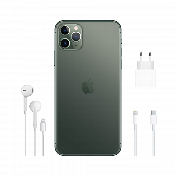 Смартфон APPLE iPhone 11 Pro Max 256GB Midnight Green (MWHM2FS/A)