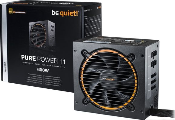 Блок питания be quiet! Pure Power 11 600W-CM Modular Gold Retail BN298