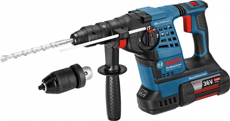 Перфоратор Bosch GBH 36 VF-LI Plus Professional (0611907002)