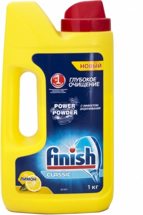 Моющее средство для пмм RECKITT BENCKISER FINISH Power Powder Lemon 1000г