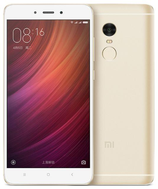 Смартфон Xiaomi Redmi Note 4 32GB золотой