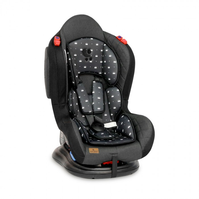 Автокресло Lorelli Jupiter Black Crowns