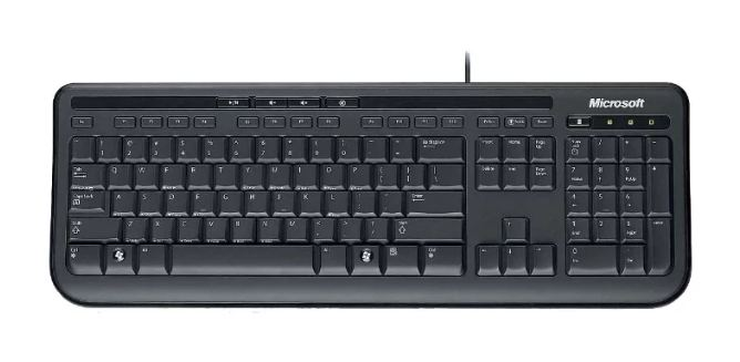 Клавиатура MICROSOFT Wired Keyboard 600 (ANB-00018)