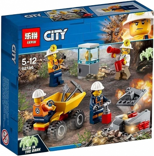 Конструктор LEPIN Mining Series Mining Experts (02100)