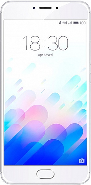 Смартфон Meizu M3 Note 16GB+2GB Silver/White