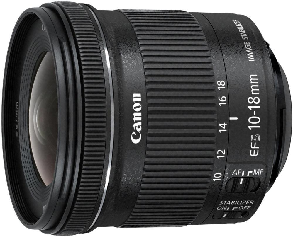 Объектив CANON EF 10-18 mm IS STM