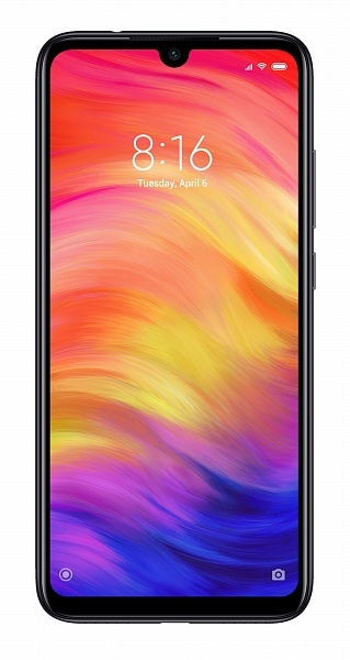 Смартфон XIAOMI Redmi Note 7 4GB/64GB Space Black EU