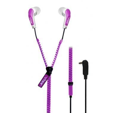 Наушники VIBE Slick Zip Purple V3M