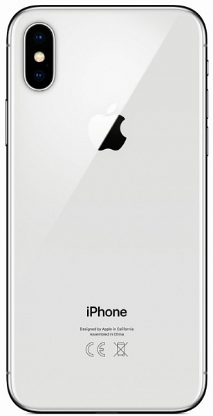 Смартфон APPLE iPhone X 64GB Silver (3D069Z/A)