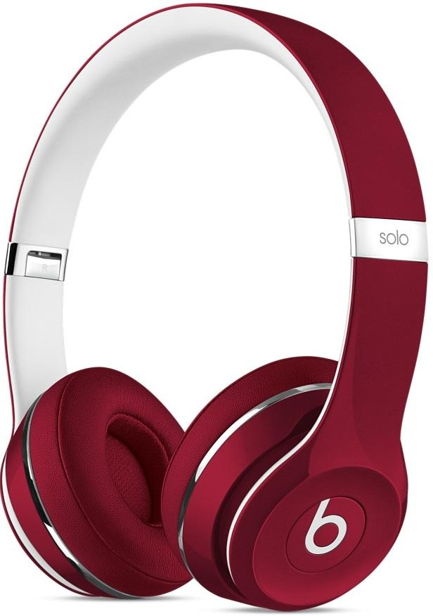 Наушники BEATS SOLO2 Luxe Edition Red (ML9G2ZM/A)