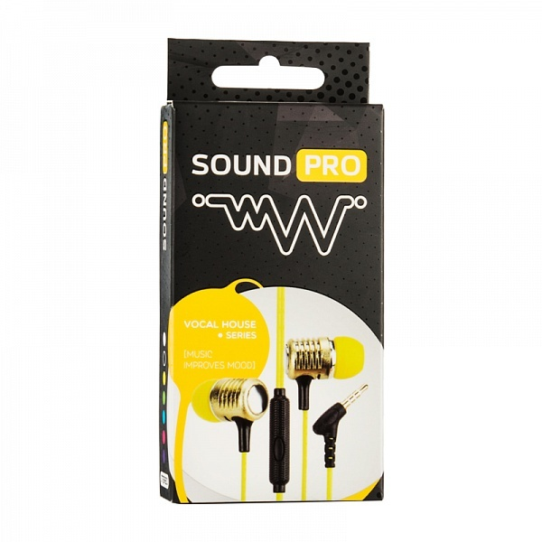 Наушники SOUND PRO Vocal House Black (SP-VH-BK )