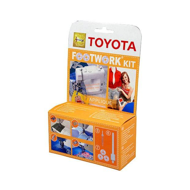 Наборы для шитья TOYOTA Toyota Footwork kit Applique