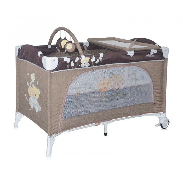 Манеж-кровать LORELLI Travel Kid 2 Beige Travelling