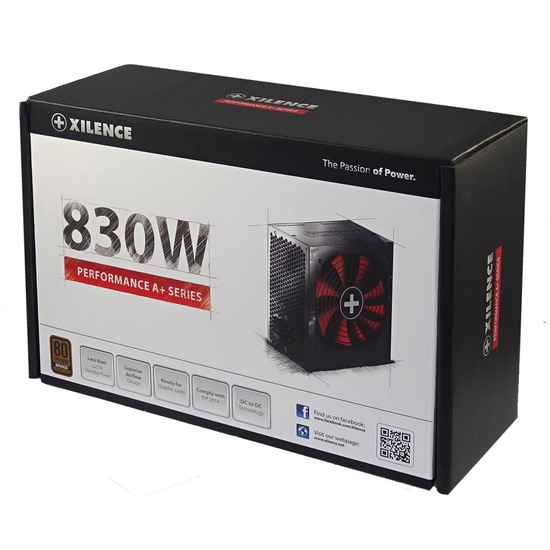Блок питания XILENCE Performance A+ 830W (XP830R8)