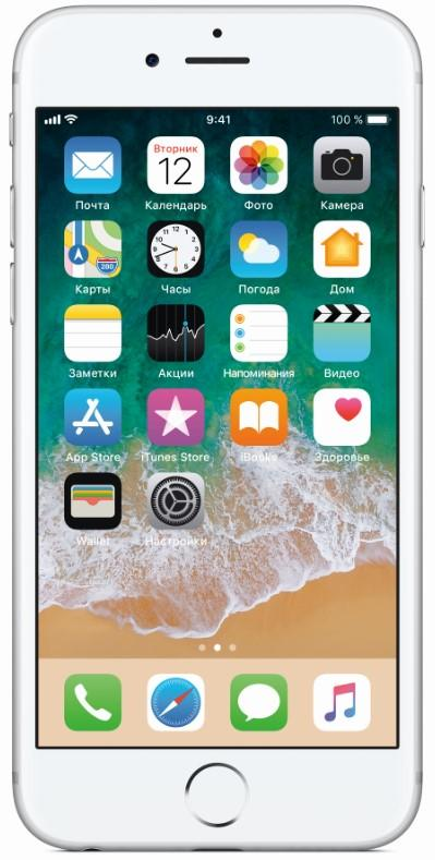 Смарфтон APPLE iPhone 6s 32GB Silver