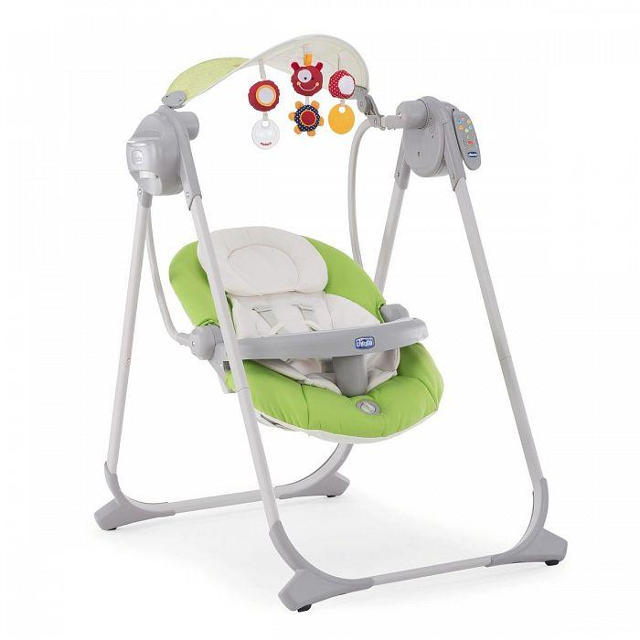 Кресло-качалка Chicco POLLY SWING UP GREEN