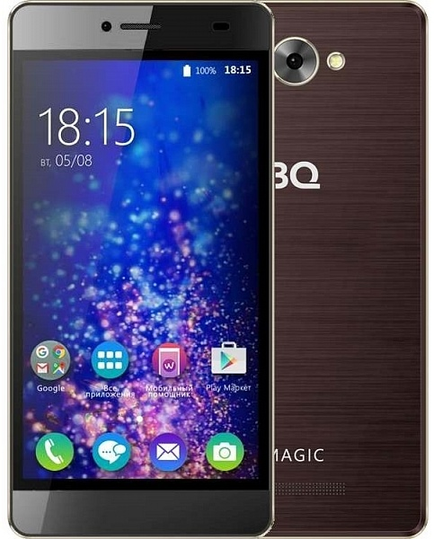 Смартфон BQ-Mobile BQS-5070 Magic Коричневый