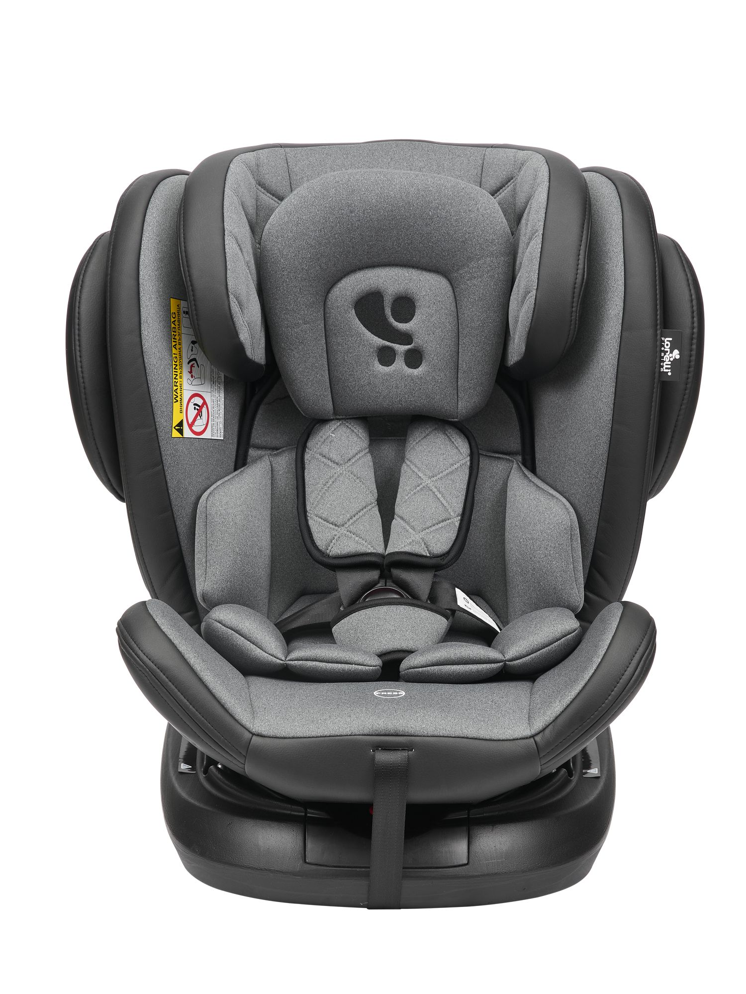 Автокресло LORELLI Aviator Isofix Black Dark Grey