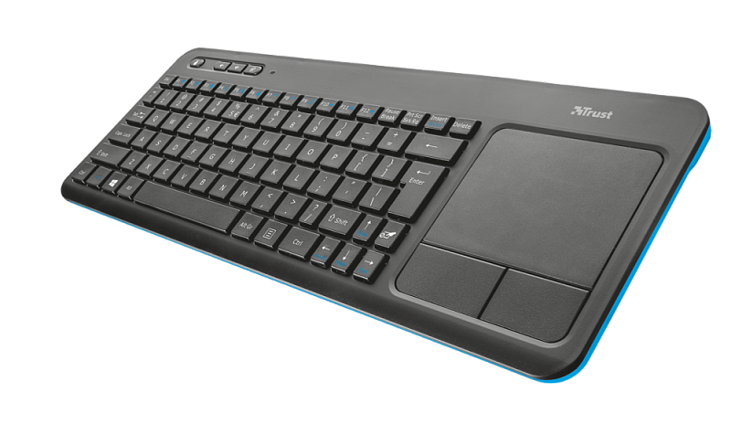 Клавиатура Trust Veza Wireless Touchpad Keyboard RU
