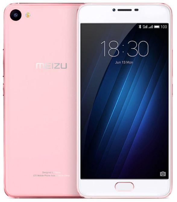 Смартфон Meizu U20 16GB+2Gb (U685H) Rose Gold