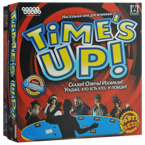 Настольная игра HOBBYWORLD Time's Up! (арт.1391)