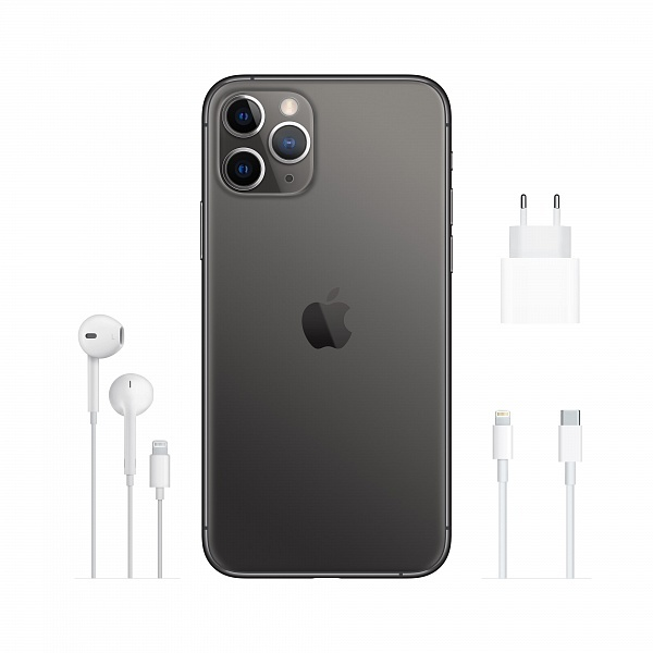 Смартфон APPLE iPhone 11 Pro 256GB Space Grey (MWC72RM/A)